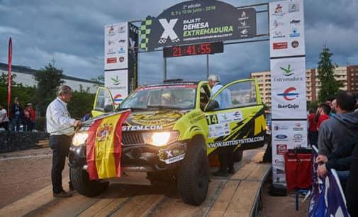 Avería para el Metal Raid en el Rally de Extremadura