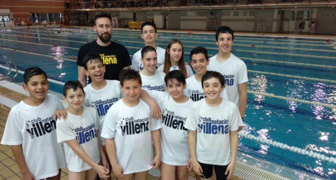 El Club Natación Villena en la fase provincial de los Jocs Sportius