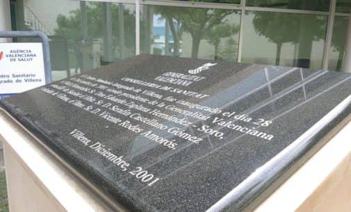 El PSOE pide eliminar el nombre de Eduardo Zaplana en dos placas conmemorativas de Villena