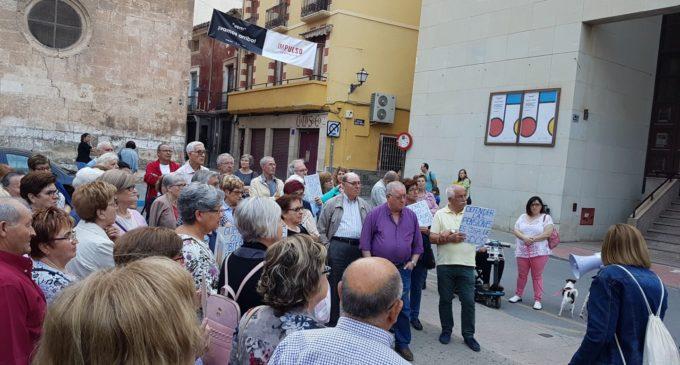 La Plataforma Local para la Defensa del Sistema Público de Pensiones se concentra hoy en la Plaza de Santiago