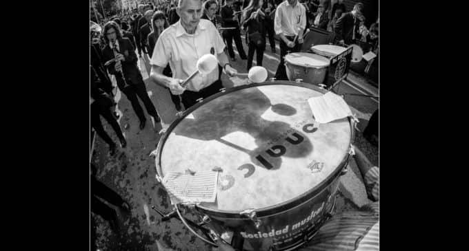 Sergio Tovar se alza con el premio al concurso de fotografía del 25 aniversario Sociedad Musical