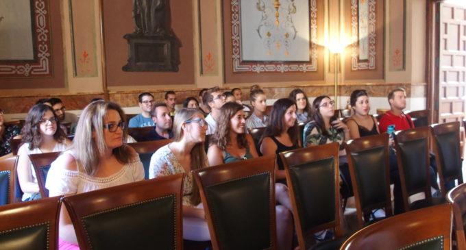 El equipo de gobierno agradece el trabajo de los jóvenes contratados a través de los planes de empleo