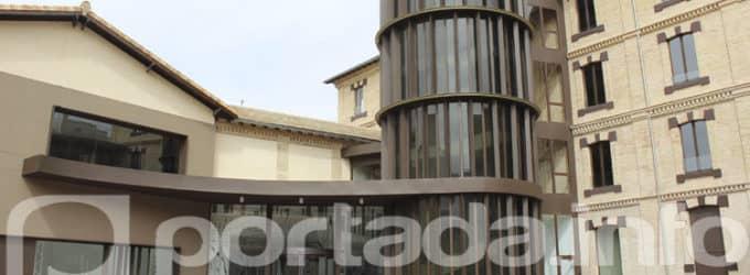 El edificio de la Electroharinera abre sus puertas tras la rehabilitación