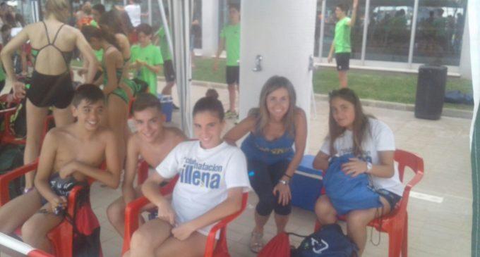 Cuatro nadadores del Club Natación Villena en el Campeonato Autonómico Alevin