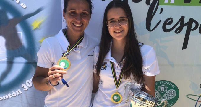 Izaskun Hernando Micó Campeona de Pelota Olimpica por 10ª vez