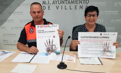 Protección Civil anuncia la campaña de verano para concienciar sobre los incendios forestales