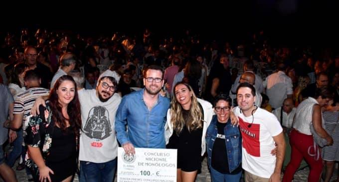 Felipito gana el VIII Concurso nacional de monólogos del Rabal