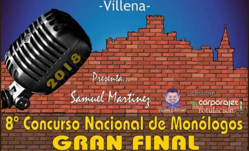 Este sábado en el Castillo se celebrará la final del concurso nacional de monólogos El Rabal Villena