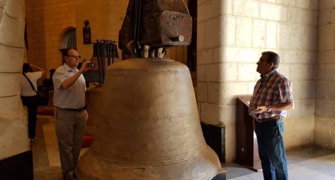 Las campanas de Santiago se exhibirán en el templo hasta el 7 de agosto