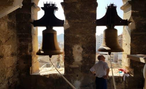 La campanica de la Virgen espera la llegada de la Patrona a Villena