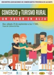 Biar acoge este sábado el encuentro de asociaciones de comerciantes de la provincia de Alicante