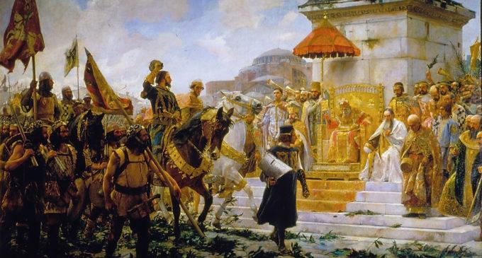 Boato Cabalgata 2018 «Entrada de Roger de Flor en Constantinopla»