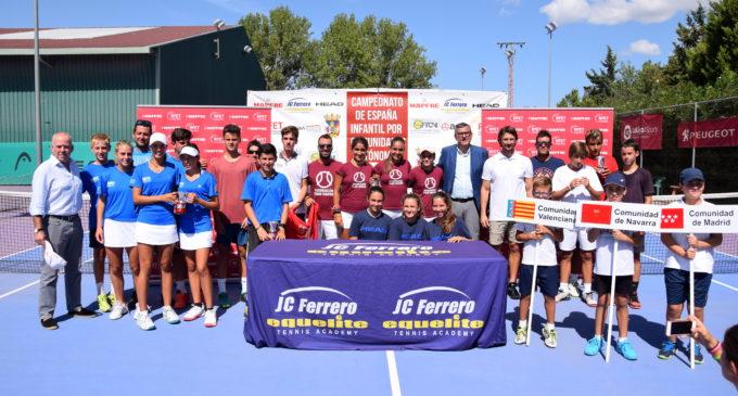 Madrid y C.Valenciana campeones de España Infantil por Comunidades Autónomas