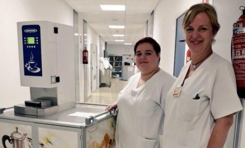 La planta de Oncología mejora sus desayunos y meriendas