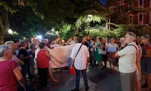 La Plataforma de Local por la Defensa de las Pensiones Públicas de Villena continúa con las concentraciones de protesta