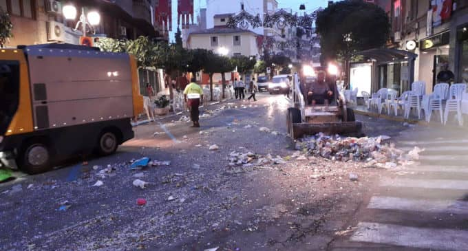El servicio de limpieza cuesta en Villena un 21% más tras la municipalización