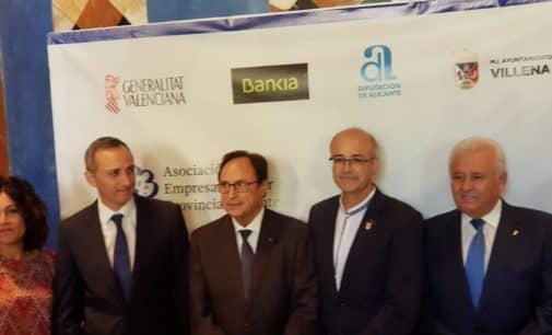 Los empresarios reivindican en Villena mejores infraestructuras