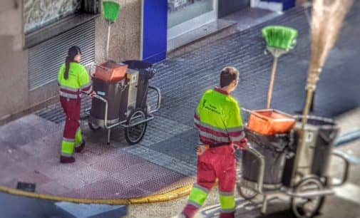 Los Verdes vuelven a recurrir a una empresa de trabajo temporal  para la contratación de personal del servicio de limpieza