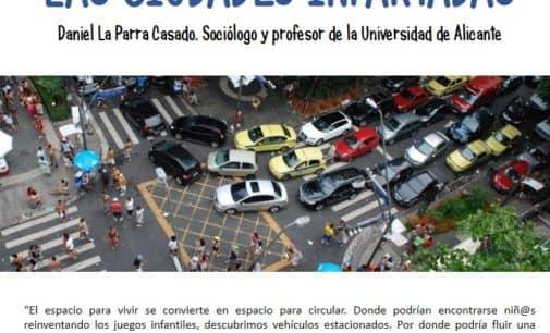 """Hoy lunes charla sobre """"Ciudades infartadas"""""""