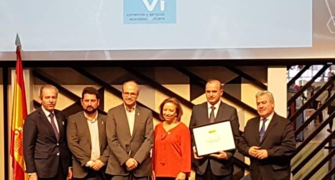 La Asociación de Comercios y Servicios Vi, en la Recepción Real del 12 de Octubre en Madrid