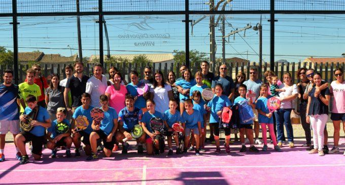 El Centro Deportivo Villena apuesta por el deporte de raqueta