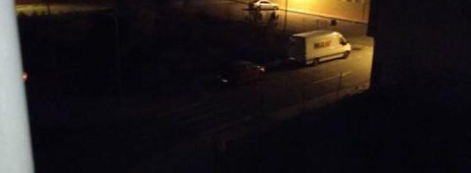 Dos meses de apagones continuos en la zona de la Morenica