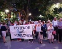 La Plataforma por la defensa de las pensiones  continúa con sus reivindicaciones