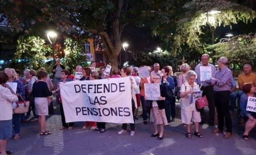 La Plataforma de Pensionistas de Villena  celebra hoy una nueva concentración  por las pensiones dignas