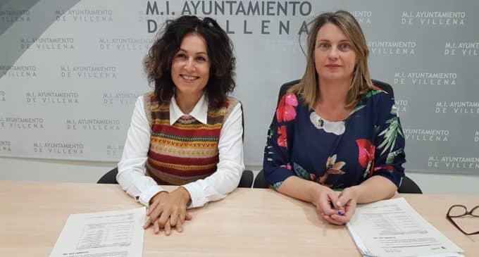 El Servef concede una ayuda a Villena de 169.780 euros para la contratación de 13 desempleados