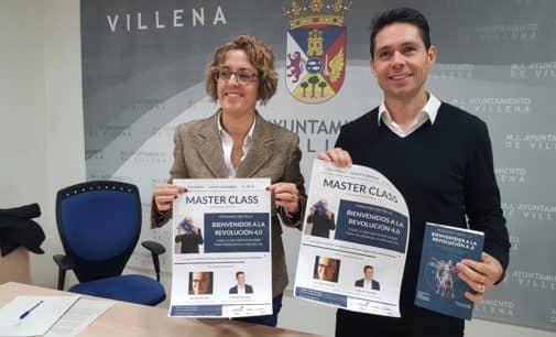 """Fernando Botella presentará en Villena su libro """"Bienvenidos a la Revolución 4.0"""""""