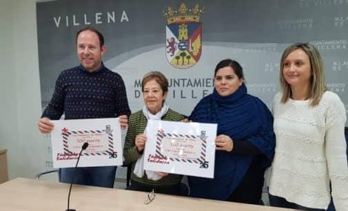 Las Bibliotecas de Villena entregan 500 euros a Cruz Roja para su programa de atención a personas sin hogar