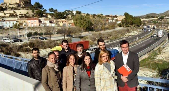 El Partido Socialista llevará a los plenos de la Comarca del Alto y Medio Vinalopó una nueva moción sobre la A31