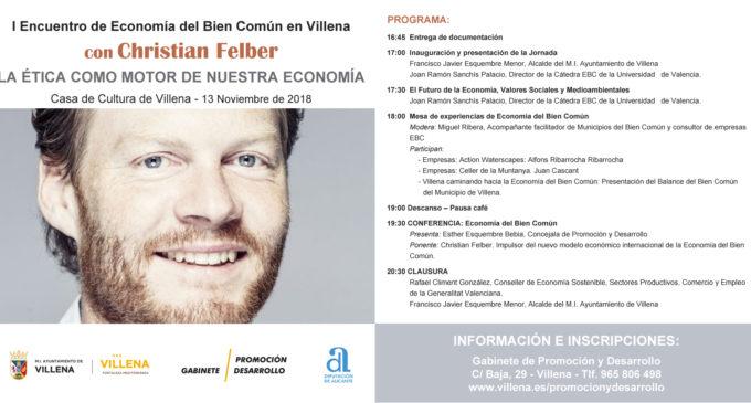 Villena acoge el primer encuentro de Economía del Bien Común