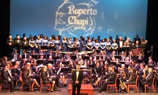 Divertido concierto de la Sociedad Musical Ruperto Chapí
