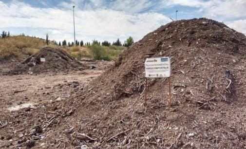 La planta de residuos de VAERSA en Villena participa en un experimento piloto de co-compostaje de residuos agrícolas a gran escala