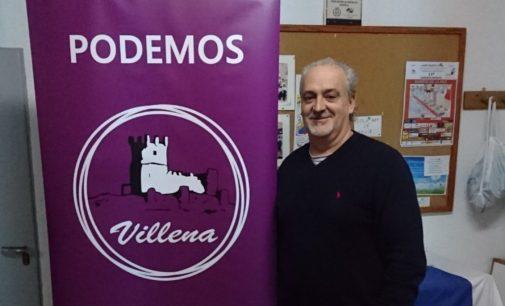 Podemos Villena crea tres órganos de gestión interna tras la dimisión de José Eladio Marco
