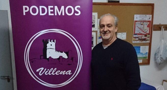 José Eladio Marco es elegido Secretario General de Círculo Podemos de Villena