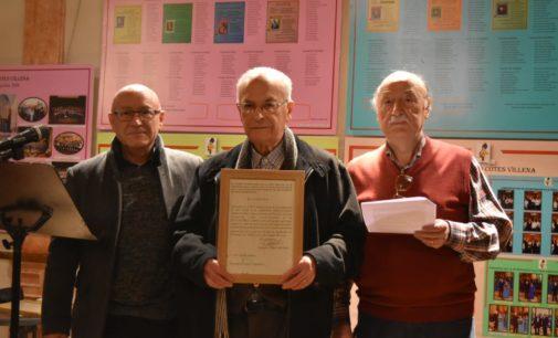 La Coral Ambrosio Cotes homenajea a Gaspar Ángel Tortosa, Antonio Milán y Antonio Hernández