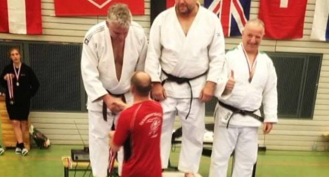 Francisco Beltrán se alza con al medalla de Bronce en el Judo Masters Internacional de Berlín