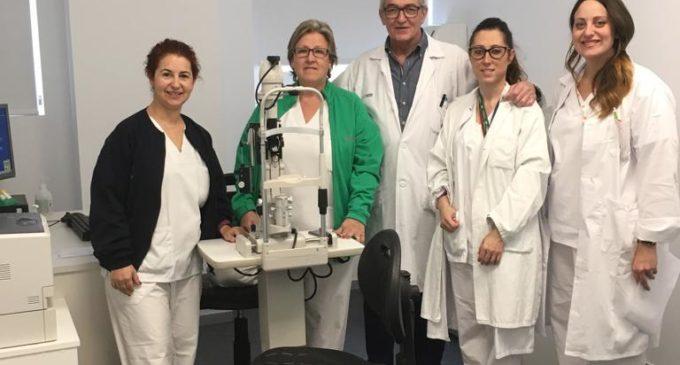 Nueva zona de Oftalmología en el Hospital de Elda