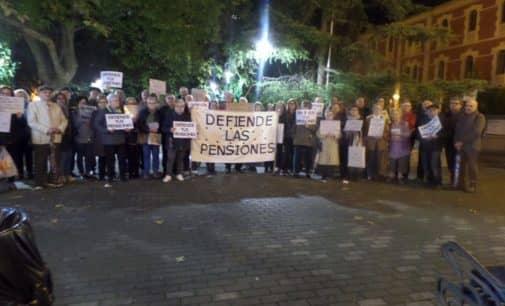 Los Pensionistas organizan una movilización con chocolate, toña y batucada por unas pensiones  justas