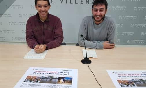 La Fundación Deportiva organiza el Trofeo Navideño de Selecciones Escolares