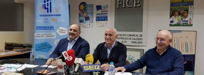 La Asociación Empresarial del Calzado de Villena dona su sede a AMIF