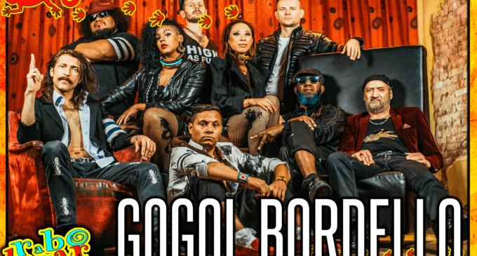 Gogol Bordello, nuevo cabeza de cartel del 5º aniversario de Rabolagartija Festival