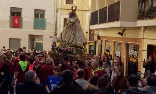 La Junta de la Virgen realizará varios traslados en romería de la Patrona de Villena a partir del  18 de agosto
