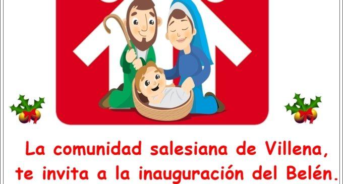 Inauguración Belén Salesianos