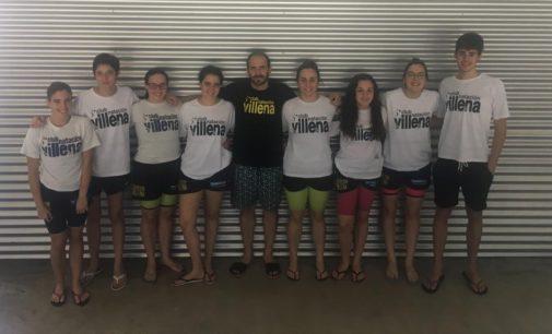 Excelentes los nadadores del Club Alto Vinalopo en Castellón