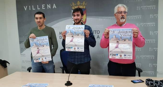 El polideportivo acoge el Campeonato Autonómico Sub 15 de Badminton