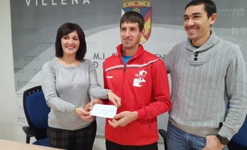 La San Silvestre de Villena recaudó 1.500 euros para la Asociación de Alzheimer