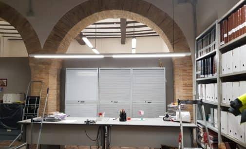 Quitan los puntales del Archivo Municipal